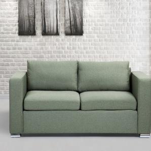 3-Sitzer Sofa Polsterbezug olivgrün HELSINKI