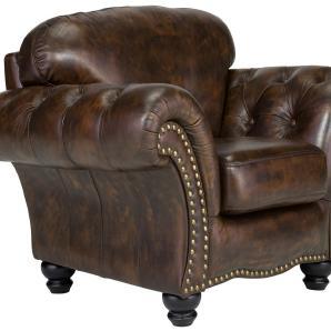 massivum Sessel aus Echtleder »Bolton «