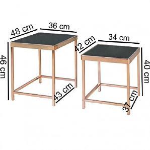 Tische von amazon online vergleichen m bel 24 for Beistelltisch verspiegelt