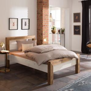 Premium Collection By Home Affaire Premium Collection by Home affaire Bett  »Jacob«, beige, 120/200 cm