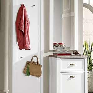 Home affaire Garderobenset, weiß, mit Aufbauservice »Chateau«, FSC®-zertifiziert