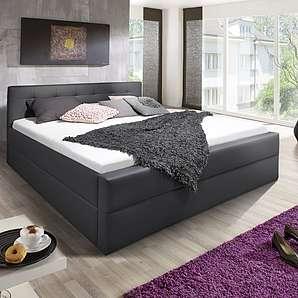 ® Design Polsterbett 180 x 200 cm grau Kappa Auf Lager !