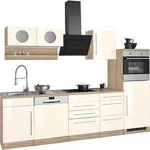HELD MÖBEL Küchenzeile »Keitum« ohne E-Geräte, Breite 280 cm