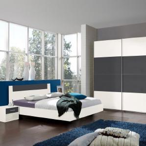 Wimex Schlafzimmer-Set mit Schwebetürenschrank (4-tlg.)