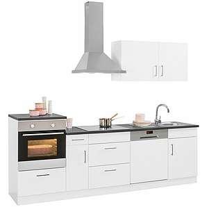 HELD MÖBEL Küchenzeile mit E-Geräten »Tampa«, Breite 260 cm