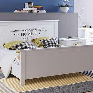 Home affaire Bett, weiß, 180/200cm »Sonya«, FSC®-zertifiziert