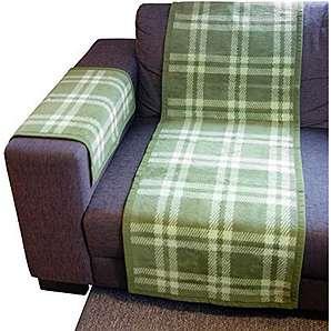 Ibena Sofaläufer Baumwollmischung grün Größe 100x200 cm