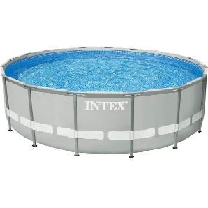 Intex Pool-Set, mit Kartuschenfilteranlage, Ø 488 cm, »Frame Pool Ultra Komplett-Set«
