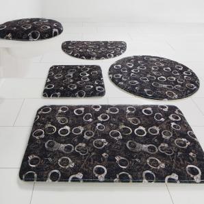 Badematte »Handschellen« Bruno Banani, Höhe 14 mm, rutschhemmend beschichtet