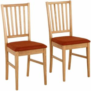 Home affaire Stuhl »Ruanda« im 2er, 4er oder 6er- Set, Sitzfläche gepolstert
