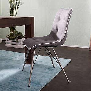 kleiner grauer stuhl m belideen. Black Bedroom Furniture Sets. Home Design Ideas