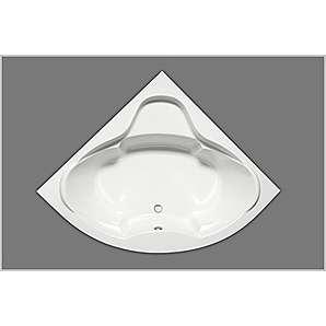 Eckbadewanne Acryl 150 weiß 150x150cm x45cm