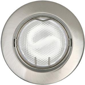 Energiespar-Einbauleuchten 3er-Set Nickel EEK: B