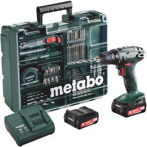 METABO Set: Akkubohrschrauber »BS 14,4 Li« inkl. Mobile Werkstatt