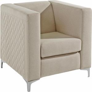 INOSIGN Sessel mit Steppung beige, FSC®-zertifiziert