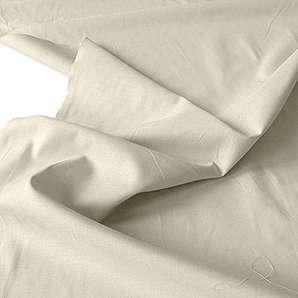 Baumwollstoff / Dekostoff leicht Meterware - mit Öko-Tex® Standard 100 (Beige)