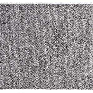Schmutzfangmatte Clean & Go - Kunstfaser - Grau - 45 x 67 cm, Hanse Home Collection