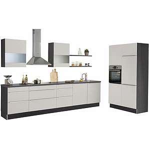 set one by Musterring Küchenzeile »Siena« mit E-Geräten, Breite 330 cm