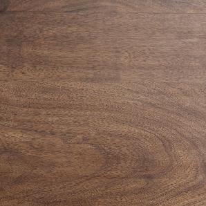 Couchtisch Live-Edge XL Akazie Braun Baumstamm mit Rollen, Couchtische, Baumkantenmöbel, Massivholzmöbel, Massivholz, Baumkante, Wolf Live Edge