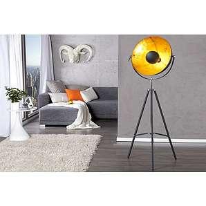 stehlampen stehleuchten von riess ambiente online. Black Bedroom Furniture Sets. Home Design Ideas