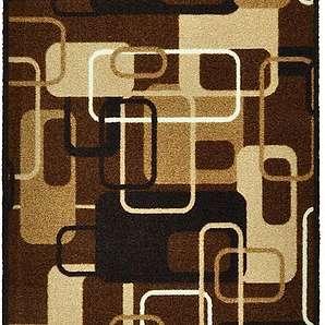 Schmutzfangmatte Retro - Braun - 67 x 180 cm, Zala Living