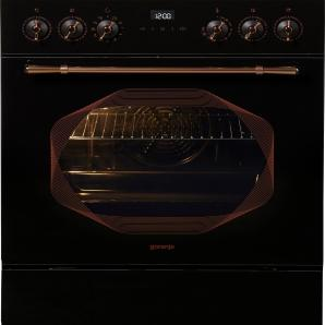GORENJE Infinity Standherd Elektro EC637INB schwarz, Energieeffizienzklasse: A