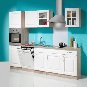 Küchenzeile »Tilda«, inkl. E-Geräte - Breite 280 cm, mit autarkem Kochfeld