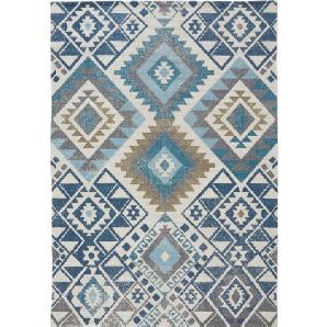 In- und Outdoor Teppich Michelle in blau