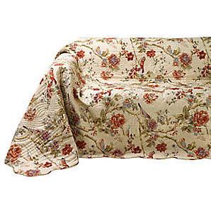 Sofa- und Sesselüberwurf, bunt, Gr. ca. 250/330 cm,  home, 100% Baumwolle