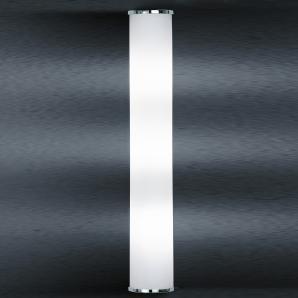 Bankamp Cromo Wandleuchte, Höhe: 53 cm, Chrom