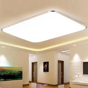 TIANLIANG04 Deckenleuchten LED Deckenleuchte, modernen, minimalistischen kreative Wohnzimmer Lampe, personalisierte Esszimmer Lampe, Schlafzimmer, Arbeitszimmer, Küche, Balkon Lampe, 53* 53 LED-highlight weißes Licht