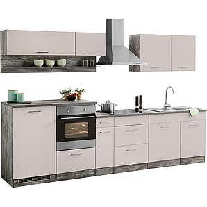 Küchenzeile ohne E-Geräte Tampa Breite 310 cm HELD MÖBEL natur