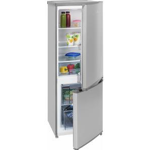 Kühl-/Gefrierkombination KGC 231, 144 cm hoch, 49,5 cm breit, Energieeffizienz: A++ silber, Energieeffizienzklasse: A++, EXQUISIT