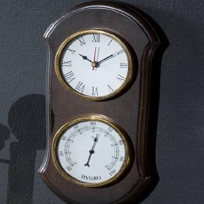 Kompass Holz 30x15x3 DEKO #058