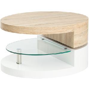 Couchtisch oval drehbar  Burano ¦ mehrfarbig ¦ Maße (cm): B: 60 H: 43 Tische  Couchtische  Couchtische andere Formen » Höffner
