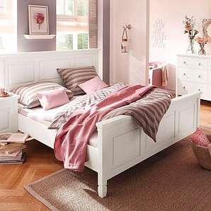 Breites Bett landhausbetten preise qualität vergleichen moebel24