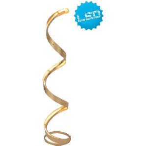 : Stehleuchte, Gold, H 118