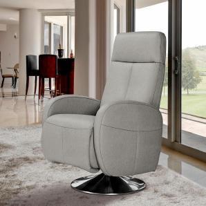INOSIGN Relaxsessel beige, inklusive Relaxfunktion, FSC®-zertifiziert
