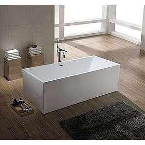 freistehende badewannen bestechen durch optik und design. Black Bedroom Furniture Sets. Home Design Ideas