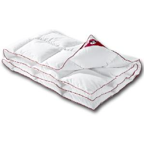 RIBECO® Daunen-Kassettendecke Lotte (135x200, weiß)