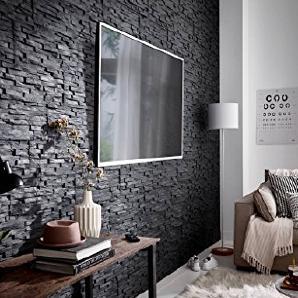 verblendsteine schaffen rustikale wohnatmosph re und sch ne au enw nde. Black Bedroom Furniture Sets. Home Design Ideas