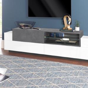 Tecnos Lowboard »ASIA«, Breite 200 cm mit offenem Fach