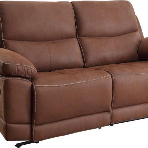 Home affaire Dreisitzer »Molly«, braun, B/H/T: 207x49x52cm, FSC®-zertifiziert