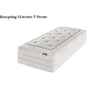 f.a.n. Boxspring 5 Sterne - Die Boxspring Matratze 7-Zonen-Tonnentaschenfederkern-Matratze - Grösse 90x200 - Härtegrad H3