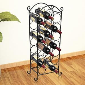 Weinregal Flaschenregal Flaschenständer 21 Flaschen Regal