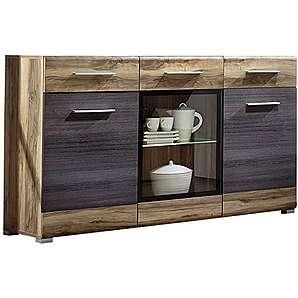 Stella Trading HTDP591021 Sideboard, Holz, braun, 43 x 150 x 93 cm