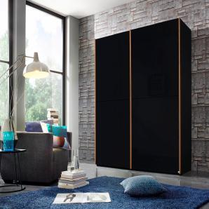 INOSIGN Schwebetürenschrank schwarz, 200 cm
