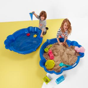 Sand- und Wasser-Spielbecken