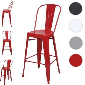 Tresenhocker Mit Lehne barhocker tresenhocker in rot preise qualität vergleichen