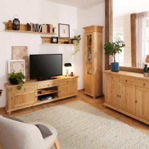 Home affaire Wohnwand  beige, »Helma«, FSC®-zertifiziert